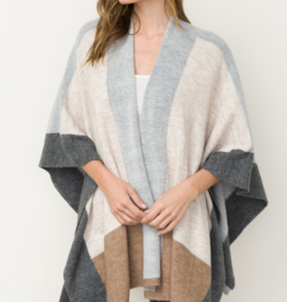 A WINTER'S TALE PONCHO SWEATER