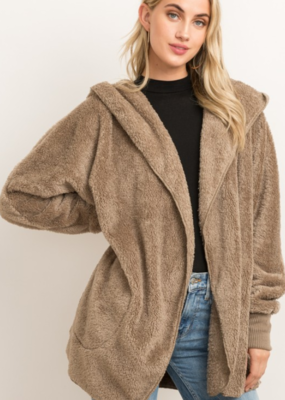 ALWAYS CHILLIN' FAUX FUR JACKET