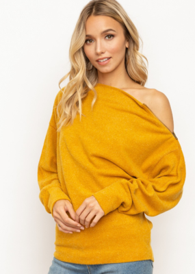 HEART OF GOLD SWEATER