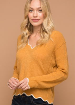 SOFT TO A GOOD START SWEATER