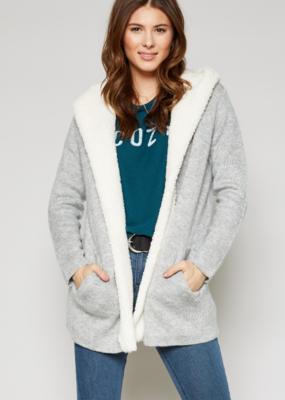CAPTURE A COZY MOMENT SWEATER CARDIGAN