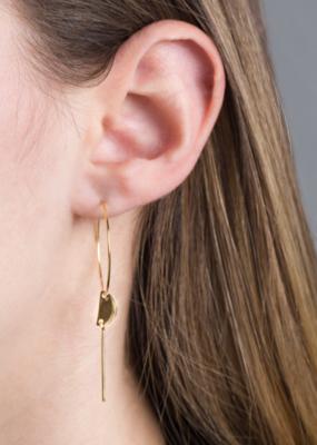 MINIMAL HOOP EARRINGS-FINAL SALE ITEM