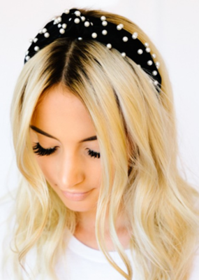 HOLLY PEARL HEADBAND-FINAL SALE ITEM
