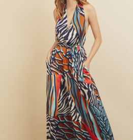 CELEBRATING THE DAY MAXI DRESS