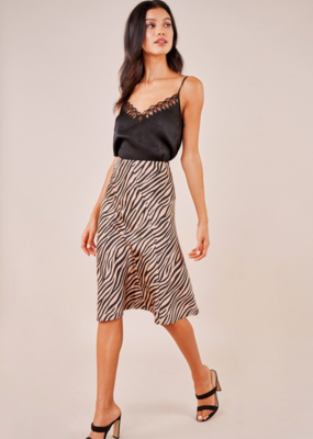 UNTAMED HEART MIDI SKIRT