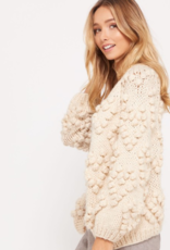 MADE WITH LOVE SWEATER CARDIGAN