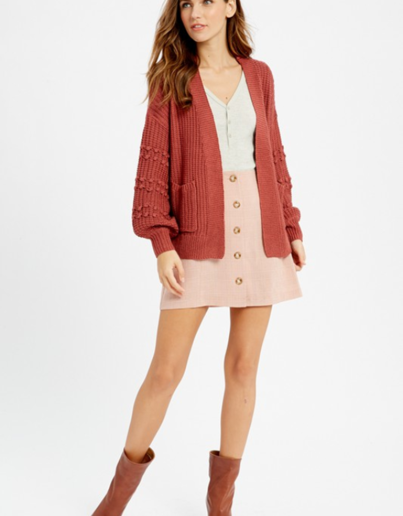 ON THE WARM SIDE SWEATER CARDIGAN
