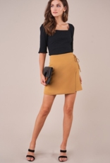 GOOD AS GOLD WRAP SKIRT