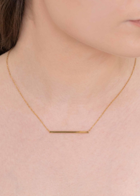 CHIC MINIMALIST BAR NECKLACE