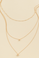 ELOA ENRAPTURE LAYERED NECKLACE