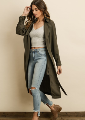 SIMPLY A CLASSIC TRENCH COAT