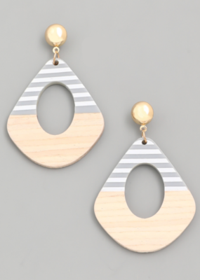 STRIPE A POSE EARRINGS