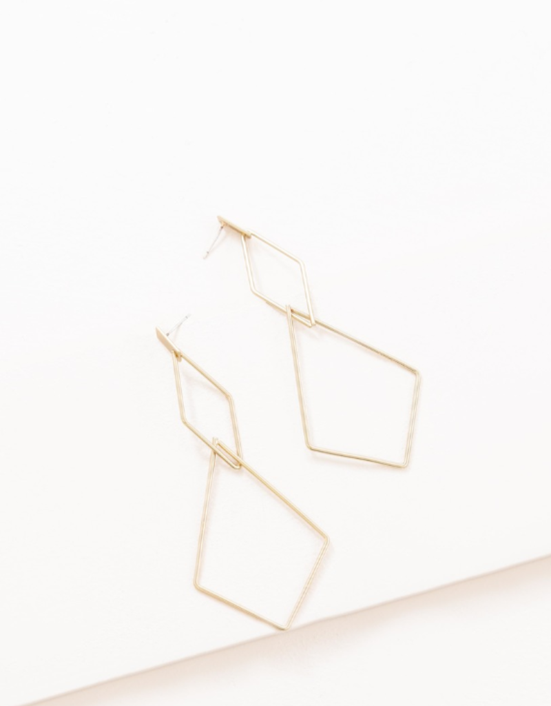 SHAPE OF YOU DROP EARRINGS
