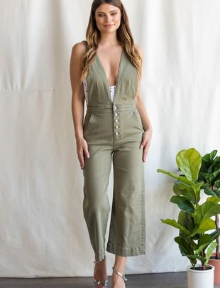 Sneak Peek Alexis Apron Jumpsuit