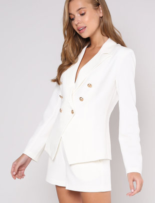 jackets Anahi Gold Button Jacket