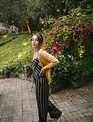 Silky Cross Back Jumpsuit