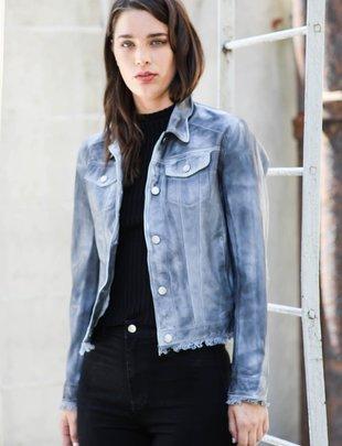 Jackett NYC Alexa Patina Jacket