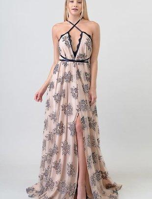 Atikshop Multi Way Lace Maxi Dress