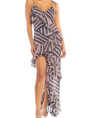Atikshop Ruffle Maxi Dress