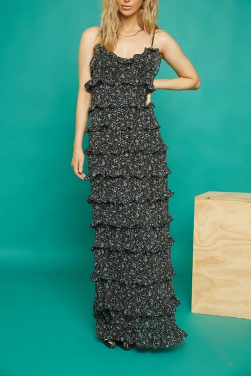Atikshop Lola Tiered Maxi Dress