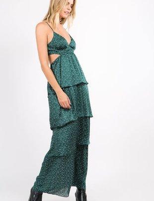 Atikshop Polkadot Maxi Dress