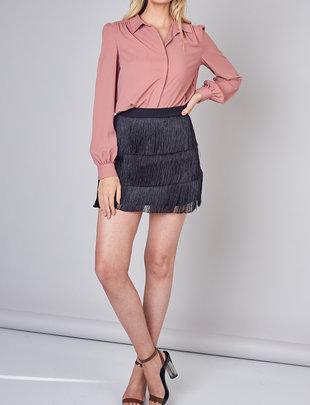 Atikshop Fringe Mini Skirt