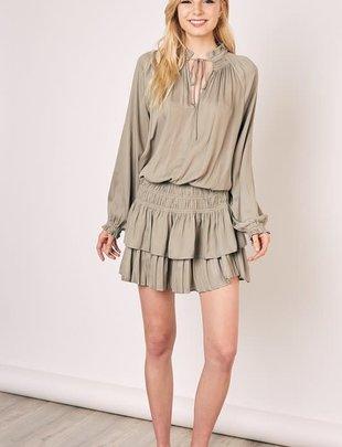 Basik Skye Pleated Mini Dress