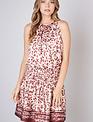 Atikshop Bianca Leopard Dress