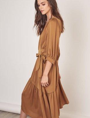 Atikshop Wrap Midi Dress
