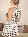 Atikshop Polka Mini Dress