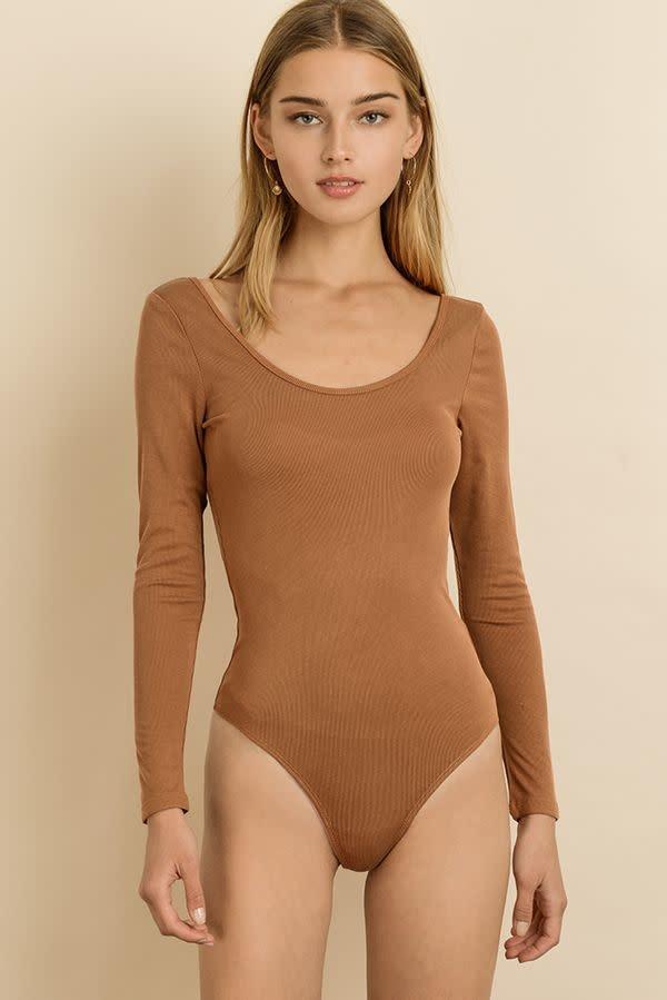 Atikshop Scoop Neck L/s Bodysuit