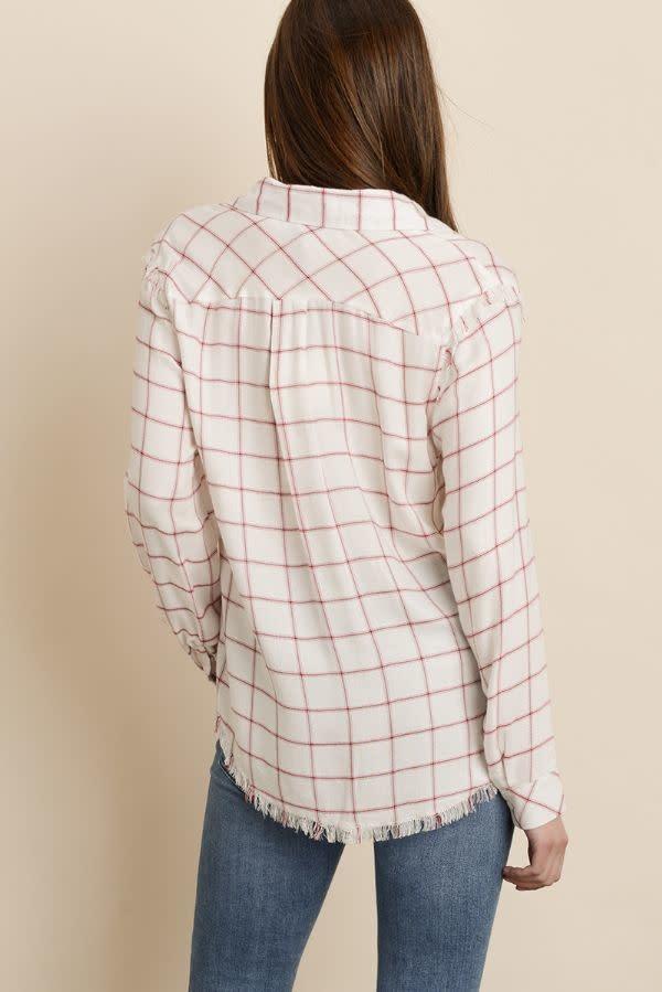 Atikshop Raw Hem L/s Shirt