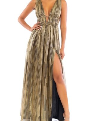 Atikshop Shimmer Maxi Dress