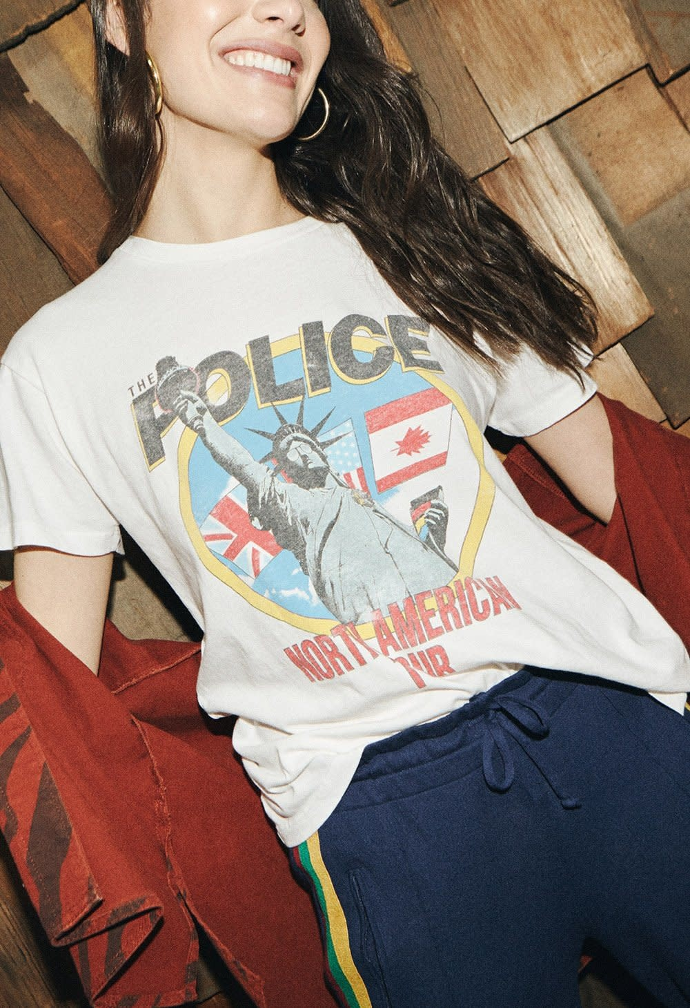 Daydreamer The Police North American Tour Tee