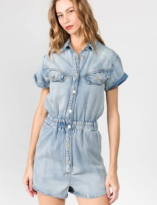 Seek The Label SS Denim Romper