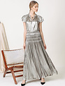 Seek The Label Song Pleated Maxi Dress