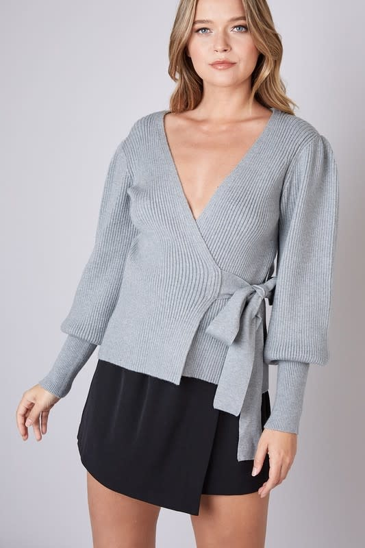 Atikshop Elena Wrap Sweater