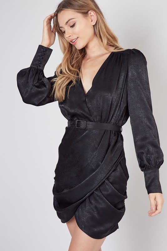 Atikshop Betis Belted Mini Dress