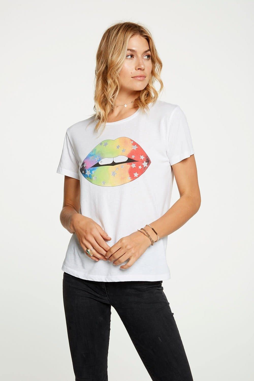 Atikshop Rainbow Star Lips Tee