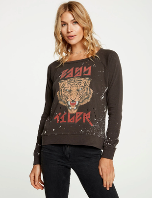 Atikshop Tiger Power Reglan Pullover