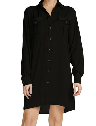 Seek The Label Midi Button Down Dress