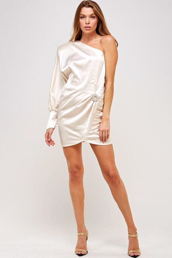 Seek The Label Ozumi One Shoulder Dress