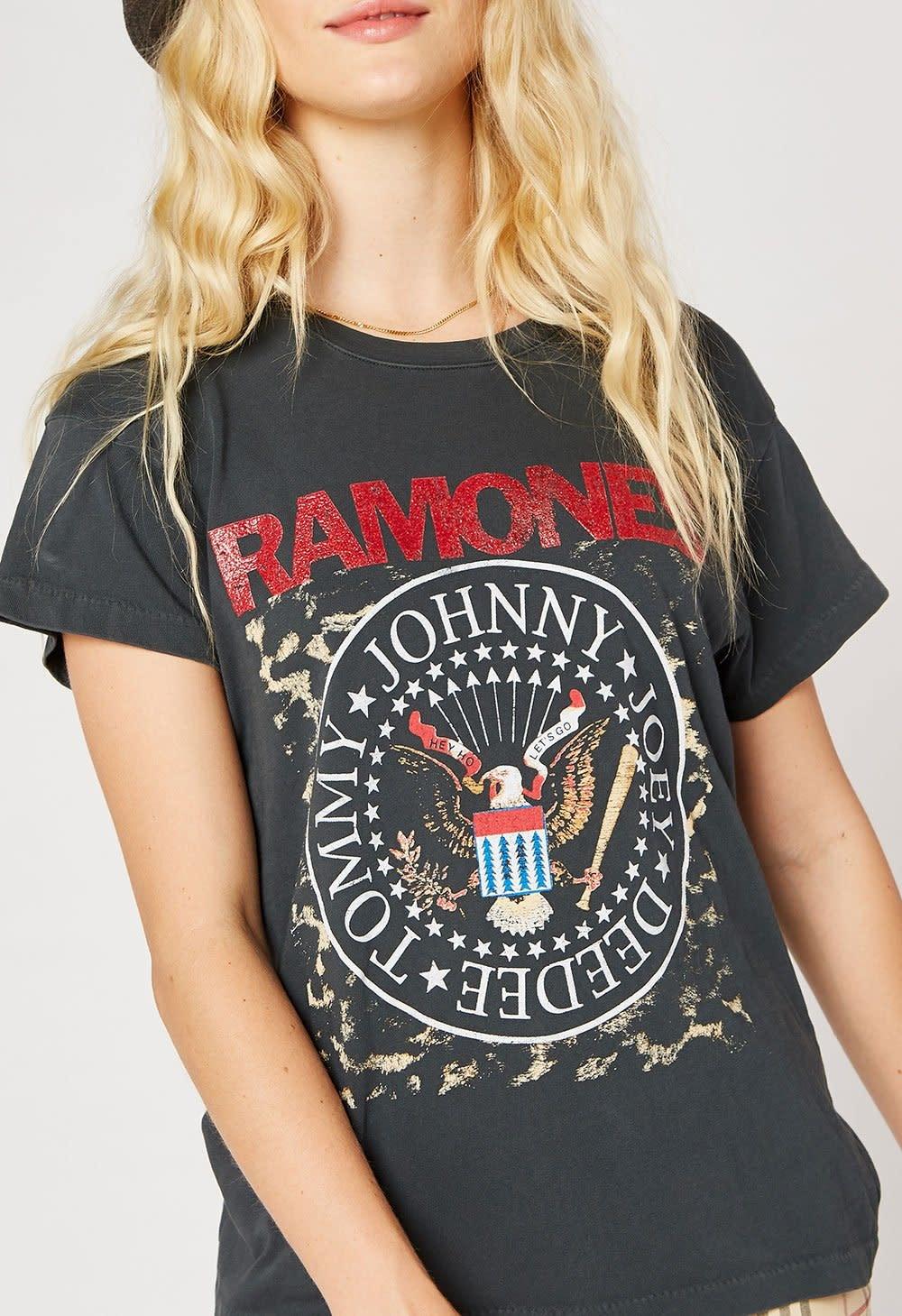 Atikshop Ramones Leopard Crest Tour Tee