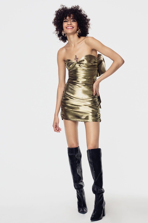 Atikshop Juliette Brocade MIni Dress