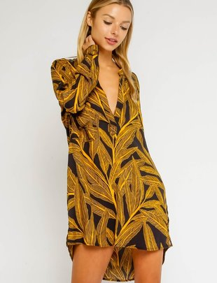 Atikshop Palm Tunic Dress