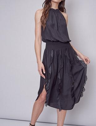 Atikshop Lora Laser Cut Detail Dress