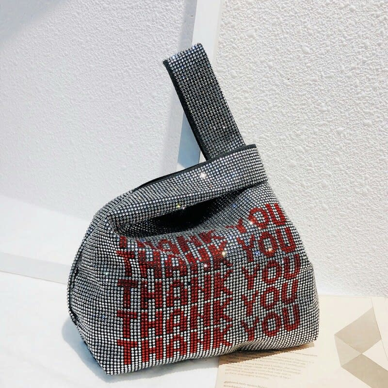 Seek The Label Thank You Evening Bag