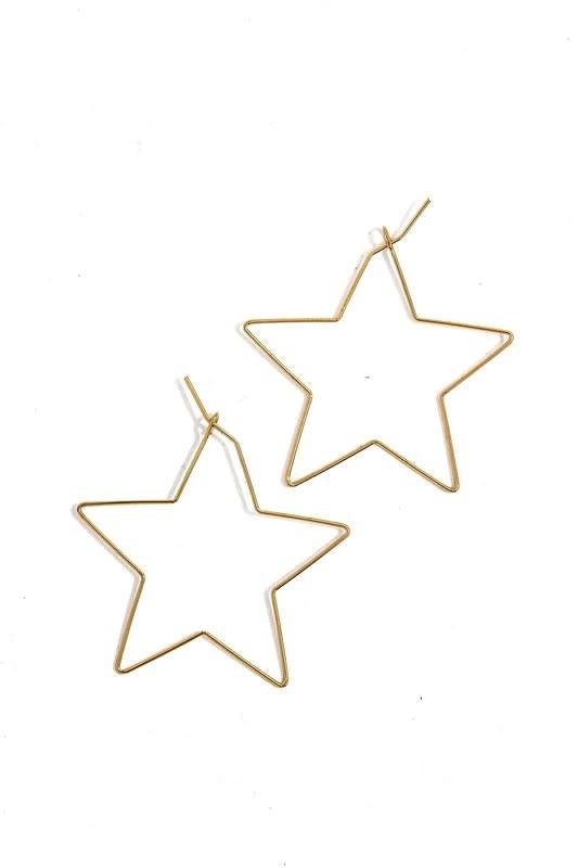 Atikshop Star Earrings