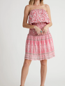 Atikshop Bazaar Off Shoulder Floral Dress