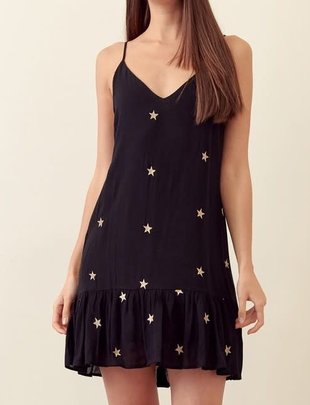 Atikshop Stars Swing Mini Dress